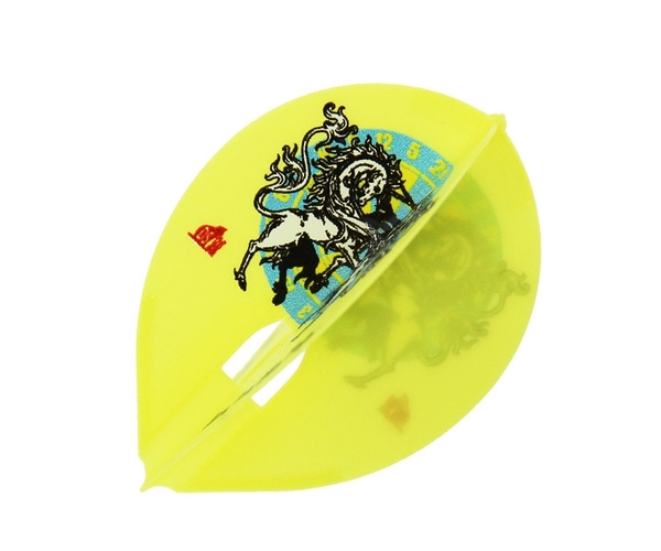 【L-Flight】PRO 柴田豊和 ver.1 Teardrop Yellow 鏢翼 DARTS