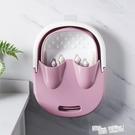 家用泡腳桶加高折疊足浴桶塑料洗腳桶按摩洗腳盆保溫足浴盆高深桶 ATF 魔法鞋櫃