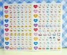 【震撼精品百貨】Hello Kitty 凱蒂貓~KITTY貼紙-心情貼紙-彩色(粉溫泉)
