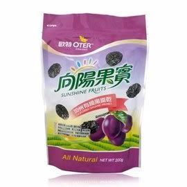 【歐特 向陽果實】加州有機黑棗乾200克