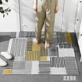 入戶門地墊 家用門墊 進門地毯絲圈進戶門墊子入門門口可裁剪腳墊 LJ7584『東京潮流』