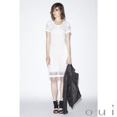 oui 蕾絲短袖洋裝