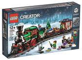 樂高Lego CREATOR 經典 【10254 Winter Holiday Train 冬季假期火車】