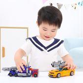變形玩具金剛5模型汽車機器人大黃蜂恐龍套裝手辦合金版兒童男孩4