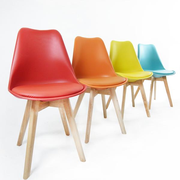 彩虹歐風高質感餐椅/洽談椅/休閒椅/書桌椅/單椅