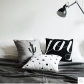 Moreover原創設計沙發墊床頭靠腰抱枕靠枕套全棉布簡約現代北歐