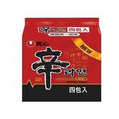 韓國農心辛拉麵*4包【愛買】