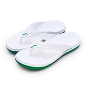 LIKA夢 GOODYEAR 固特異 防水輕量彈力休閒運動夾腳拖鞋 SURFER CF系列 白 83819 男