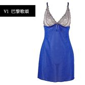 Aubade-巴黎歌頌S短襯衣(藍灰)V140