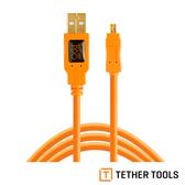 TETHER TOOLS TTCU8015-ORG USB2.0 轉 Mini B 8Pin 拍攝線 傳輸線 4.6M 延長線 公司貨