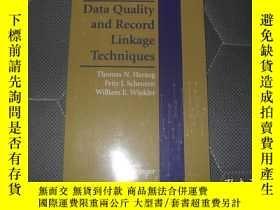 二手書博民逛書店Data罕見Quality and Record Linkage