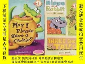 二手書博民逛書店Hippo罕見& Rabbit in Three Short Tales+May I Please Have a