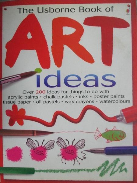 【書寶二手書T5/少年童書_YBP】Usborne Book of Art Ideas_Watt, Fiona/ Bar