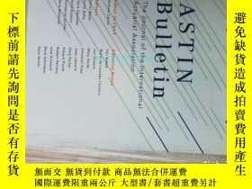 二手書博民逛書店Astin罕見Bulletin (journal) 09 201