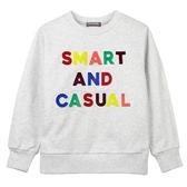 『小鱷魚童裝』撞色絨毛字母T恤(02號~06號)532456