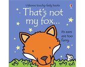 That's Not My Fox 那不是我的小狐狸觸摸書
