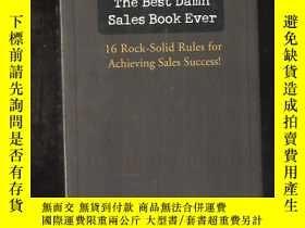 二手書博民逛書店the罕見best damn sales book ever 作