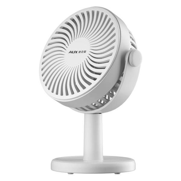 奧克斯桌面小風扇靜音辦公室桌上迷你小型台式usb充電型宿舍夾扇 夏日特惠 夏季特惠