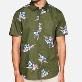 HURLEY 男 ORGANIC COTTON DELMAR SHIRT 短袖襯衫
