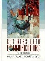 二手書博民逛書店《Business data communications》 R