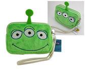 【卡漫城】 零錢包 Alien ㊣版 三眼怪 Toy Story 雙拉鍊 手機袋 附吊繩 玩具總動員