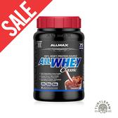 凹罐【加拿大ALLMAX】奧美仕ALLWHEY CLASSIC經典乳清蛋白巧克力口味飲品1瓶 (907公克) 效期2020/04