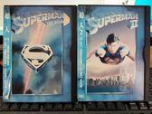 挖寶二手片-P10-183-正版DVD-電影【超人 1+2】-克里斯多夫李維 金哈克曼