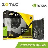 ZOTAC 索泰 GeForceGTX 1050 Ti Mini 4G 顯示卡