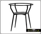 {{ 海中天休閒傢俱廣場 }} C-99 摩登時尚 餐桌腳系列 485-16 網架餐桌腳/烤黑/烤銀腳