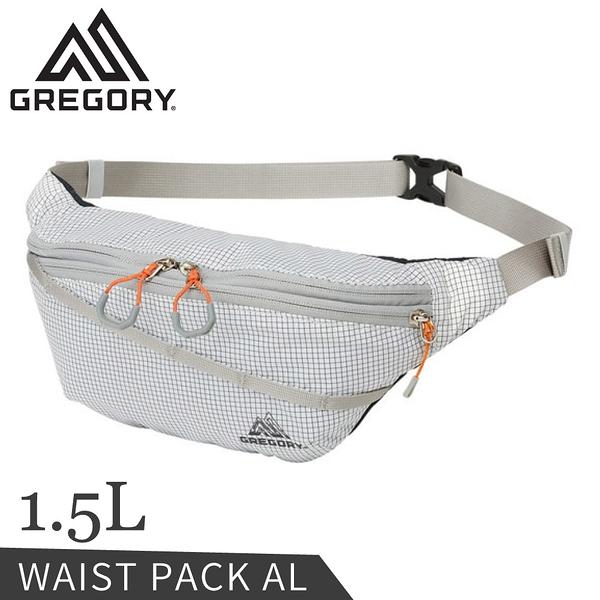 【GREGORY 美國 1.5L AL輕量腰包《時尚白》】138246/斜背包/小包/側背包