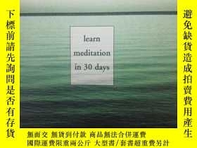 二手書博民逛書店The罕見Power of Stillness: Learn M