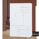 INPHIC-Liz 寶貝白色4×7尺衣櫥_9PFn