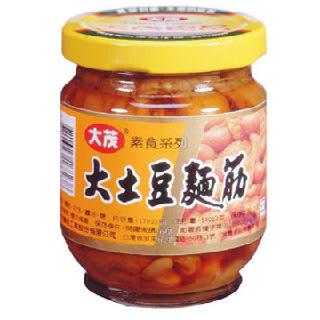 【大茂】大土豆麵筋170g *6罐(玻璃瓶)/組