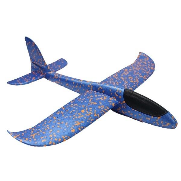 48cm 安全飛機 超大 DIY無動力手投滑翔機/一個入(促99) EPP泡沫滑翔機 手拋飛機 360度手拋平飛