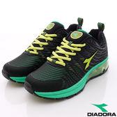 DIADORA義大利國寶鞋-超彈力科技動能款-MR2765黑綠(男段)(25cm-29cm)