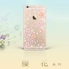 【奧地利水鑽】HTC 10 evo (5.5吋) 櫻花 空壓軟套