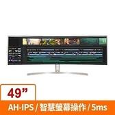 LG 樂金 49型 IPS 曲面 32:9 5k Dual QHD 低藍光不閃屏 螢幕顯示器 49WL95C-WE