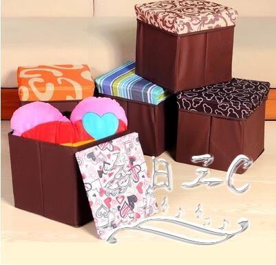 兒童卡通玩具可坐成人多功能折疊儲物收納椅xx4482【每日三C】