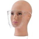 防護用品防護面罩全臉透明塑料防霧防飛沫防油煙騎行做飯遮臉炒菜面具面屏 愛丫
