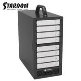 STARDOM ST8-TB3-B 3.5吋硬碟 Thunderbolt3 8bay 磁碟陣列硬碟外接盒