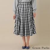 ❖ Spring ❖ 經典格紋氣質長裙 - Green Parks