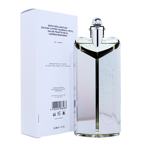 【Cartier】Declaration 卡地亞 白金宣言 男性淡香水 150ML(TESTER-環保盒)