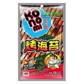 相撲手烤海苔-香辣海鮮12g【愛買】