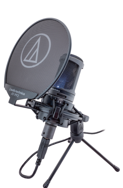 【加贈 防噴罩 避震架】鐵三角 audio-technica AT2020USB+ USB錄音電容式麥克風【台灣鐵三角公司貨】