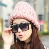 羊毛帽-簡單隨性加厚保暖男女針織帽3色73id42【時尚巴黎】