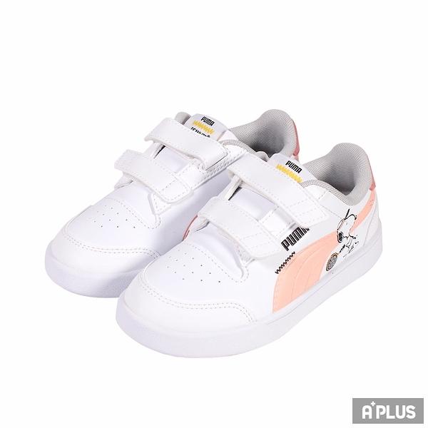 PUMA 童鞋 PEANUTS PUMA SHUFFLE V PS 史奴比 簡約 穿搭-37574002