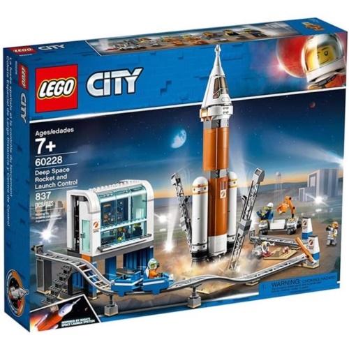 樂高積木 LEGO《 LT60228 》City 城市系列 - 重型火箭及發射控制╭★ JOYBUS玩具百貨