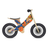 Kinderfeets 美國木製平衡滑步車/學步車-英雄聯盟系列 (超級英雄)
