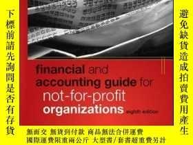 二手書博民逛書店Financial罕見and Accounting Guide for Not-for-Profit Organi