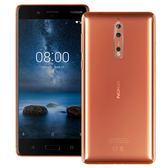 福利品99新 Nokia 8 5.3吋 4G/64G 雙蔡司主相機 IP54級別防水手機 完整盒裝 保固一年